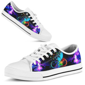 COLORFUL BUTTERFLY SHOES@ zingpalm butterfly shoes2019@low-top 178511