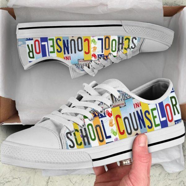 SCHOOL COUNSELOR SHOES@ zingpalm school counselors@low-top 177258