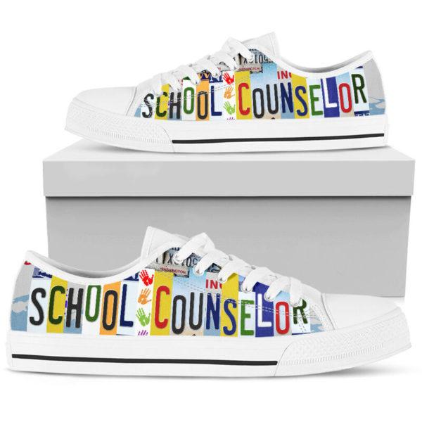 SCHOOL COUNSELOR SHOES@ zingpalm school counselors@low-top 177257