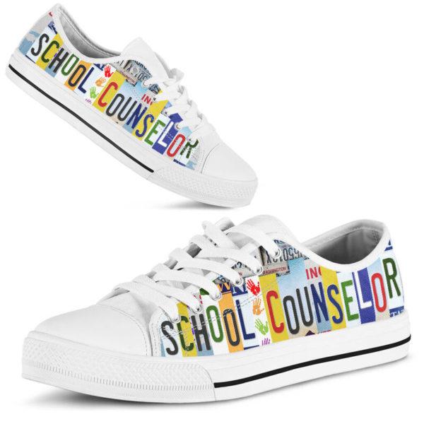 SCHOOL COUNSELOR SHOES@ zingpalm school counselors@low-top 177252
