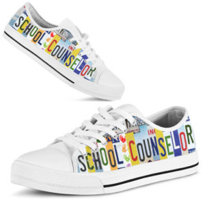 SCHOOL COUNSELOR SHOES@ zingpalm school counselors@low-top 177251