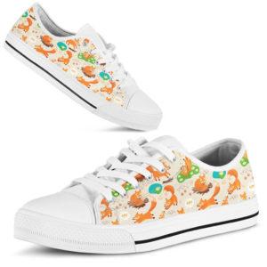 FOX SHOES@ zingpalm fox shoes@low-top 176711