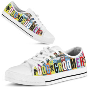DOG GROOMER SHOES@ zingpalm dog groomer shoes@low-top 176081