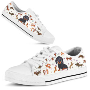 Dachshund Low Top - DT04@ shoppingmylife ngfkhjbb@low-top 169691