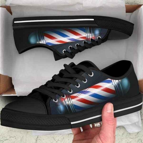 Barber@ rockinbee barber shoe 031@low-top 166729