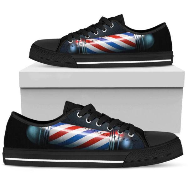 Barber@ rockinbee barber shoe 031@low-top 166728