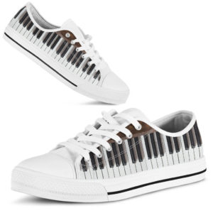Piano Low Top Shoes@ rockinbee musical piano 510@low-top 166092