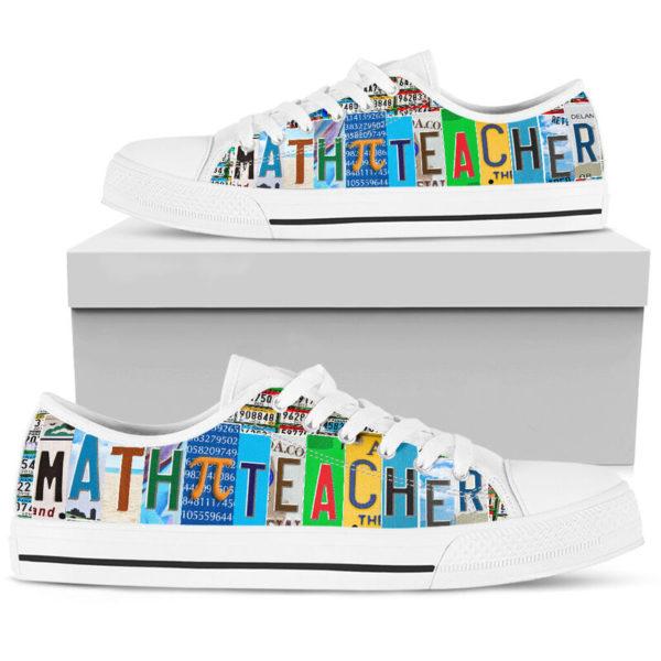 """Math Teacher@ rockinbee mathteacher pi 108@low-top"""" 161814"""