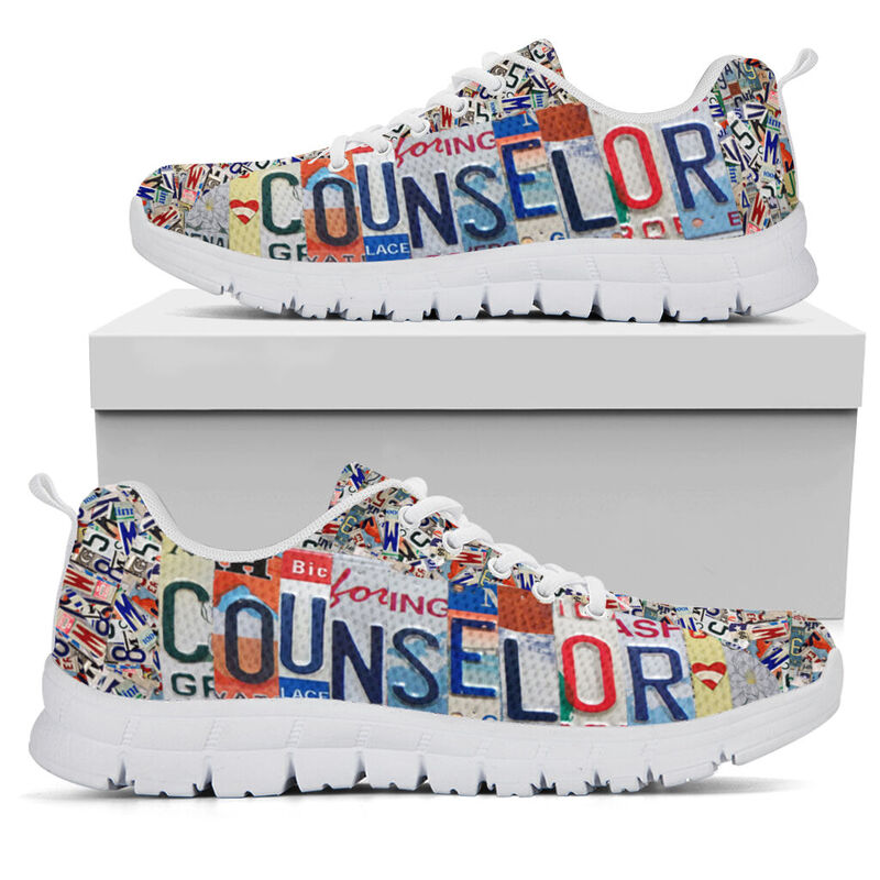 COUNSELOR LIVE LOVE license plates@ proudteaching COUNSELOR545@sneakers 146866