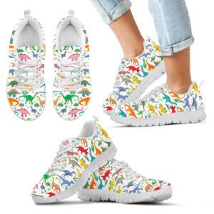 DINOSAUR PATTERN SHOES@ proudteaching dinoptt76347@sneakers 143338