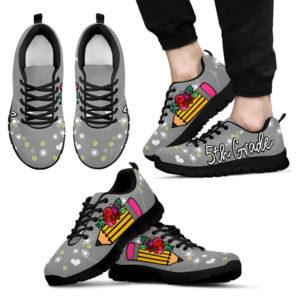 5TH GRADE PENCIL FLOWER GRAY KD@ proudteaching 5thgradegray06354@sneakers 141185