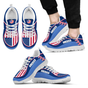 AMERICA FLAG CL SHOES@ proudteaching americaflagcl0554@sneakers 135064