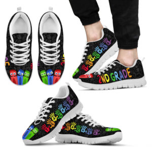 2ND GRADE TEACHER HAND COLOR@ proudteaching 2NDAFGSD@sneakers 133454