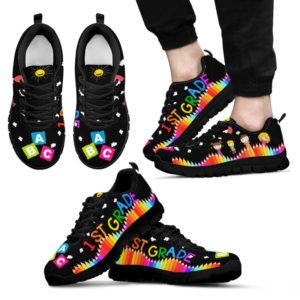 1st grade abc black@ proudteaching 1stgradeabc6748484@sneakers 128351