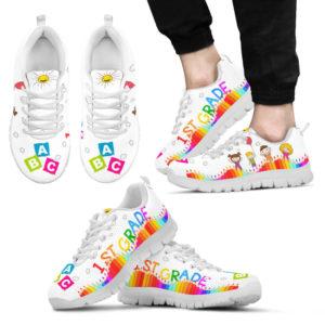1st grade abc- white@ proudteaching 1stjdsnhj14541frfrg@sneakers 127219