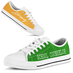 "school counselor green gold kd@ proudteaching schoolcounselorgreengold5444@low-top"" 126127"