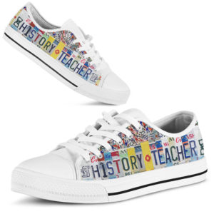 """history teacher license plates low top@ proudteaching historyb2f323b@low-top"""" 108290"""