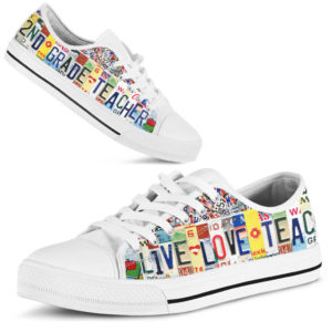 """2ND GRADE LIVE LOVE license plates LOW TOP@ proudteaching 2NDGRADE25@low-top"""" 107423"""