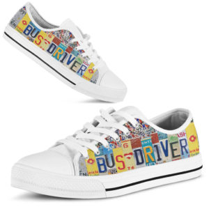 "bus driver license plates low top@ proudteaching bue8r845@low-top"" 106142"