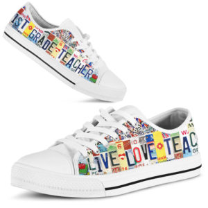 """1ST GRADE LIVE LOVE license plates LOW TOP@ proudteaching 1STGRADE@low-top"""" 102847"""