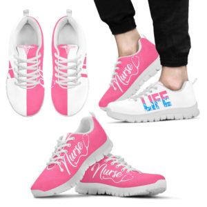 nurse life- pink white kd@ proudnursing lifekmjdk121@sneakers 95703