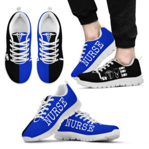 NURSE- LOVE ROYAL BLUE BLACK@ proudnursing NURSELOVEROYALBLUEBLACK545G@sneakers 94760