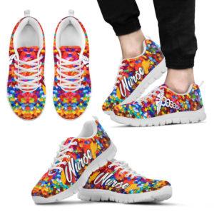 NURSE PAINT ART WHITE SOLE KD@ proudnursing nursepaintartwhile0215@sneakers 93509