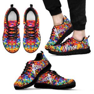 NURSE PAINT ART SHOES 2@ proudnursing nurseskgf54as2@sneakers 91305
