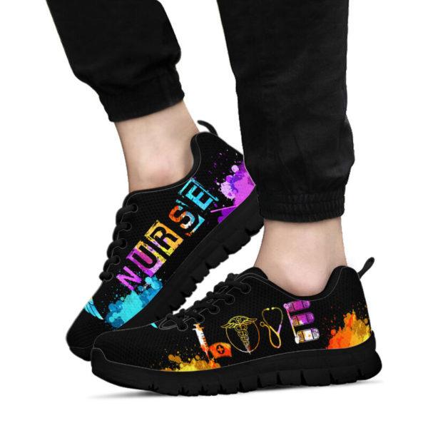 NURSE-LOVE-ART@ proudnursing nurse2759d@sneakers 89287