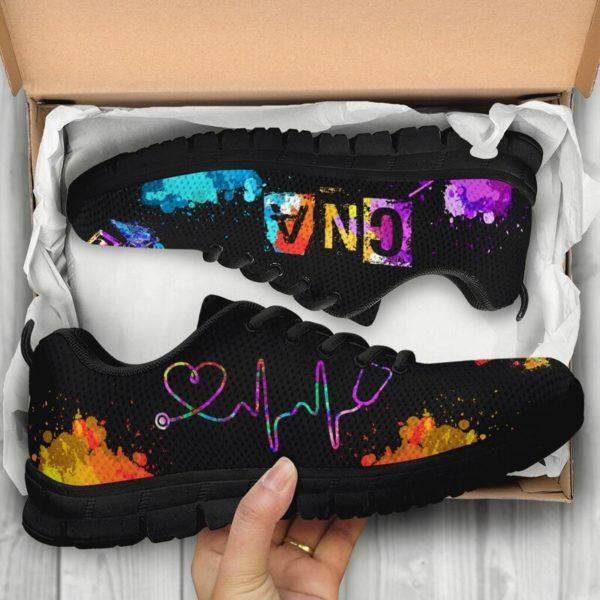 CNA-(RN) HEARTBEAT ART@ proudnursing CNARNHEARTBEATART156DVGD@sneakers 86079