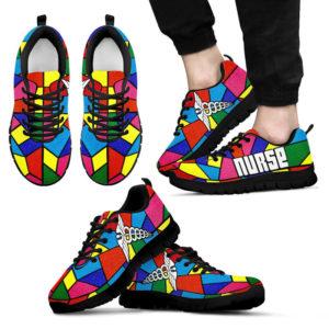 NURSE GLASS COLOR SHOES@ proudnursing nursehbgl0546@sneakers 82421