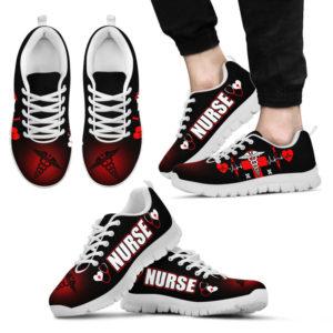 NURSE SYMBOL HB SHOES@ proudnursing nursesymbolhb01254@sneakers 80909