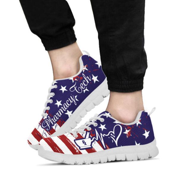 Pharmacy Tech American@ proudnursing PharmacyTechflag@sneakers 80155
