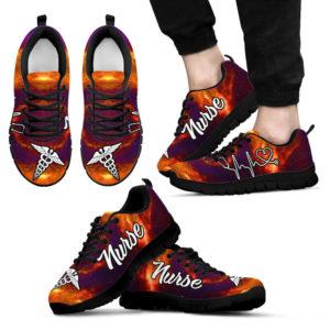 nurse- galaxy orange purple kd@ proudnursing nursrej41542@sneakers 77634