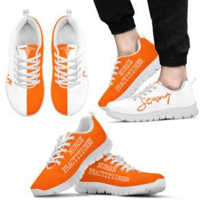 NURSE-STRONG Practitioner orange white@ proudnursing nurse102do@sneakers 77193
