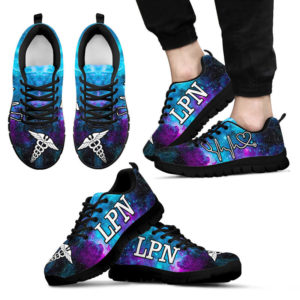 LPN GALAXY SHOES@ proudnursing lpngalaxy6788@sneakers 76878