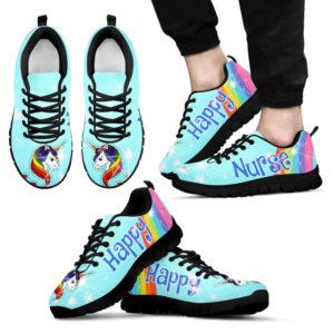 NURSE - HAPPY unicorn kd@ proudnursing nursejiodkjos52452@sneakers 73544