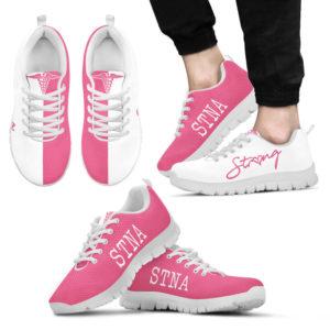 STNA nurse strong pink kd@ proudnursing hjdsnh454@sneakers 73229