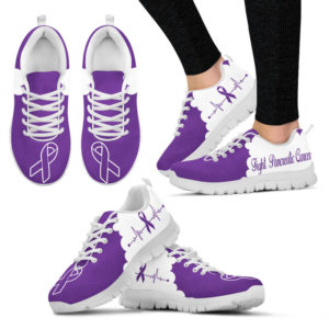 Fight pancreatic cancer CL@ fightcancerpro Figsv212L@sneakers 69258