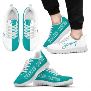 Ovarian Cancer strong kd@ fightcancerpro ovariancancerstrongkd@sneakers 68691