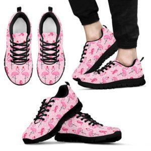 BREAST CANCER FLAMINGO SHOES@ fightcancerpro breastfla05788@sneakers 65101