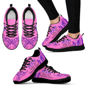 WALK FOR PANCREATIC CANCER SHOES PINK@ fightcancerpro WALSV4V55Y5Y@sneakers 63967