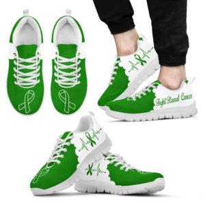 breast cancer cl green white kd@ fightcancerpro breastcancerclgreen63634@sneakers 63778