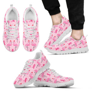 BREAST CANCER FLAMINGO WHITE SOLE@ fightcancerpro breastcancerfla889@sneakers 63463