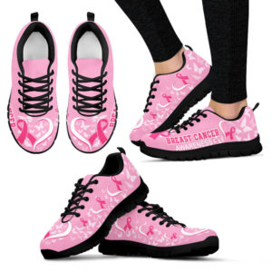 BREAST CANCER AWARENESS HEART RIBBON@ fightcancerpro BREAS32D3V2@sneakers 59432