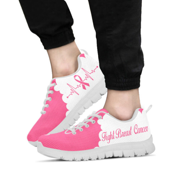 BREAST CANCER CLOUD PINK WHITE@ fightcancerpro breastcancerclpink7889@sneakers 57168