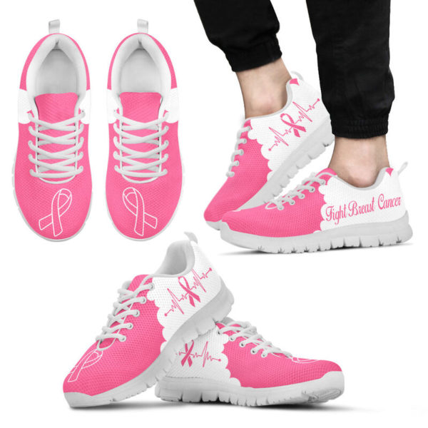 BREAST CANCER CLOUD PINK WHITE@ fightcancerpro breastcancerclpink7889@sneakers 57167