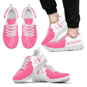 BREAST CANCER CLOUD PINK WHITE@ fightcancerpro breastcancerclpink7889@sneakers 57166