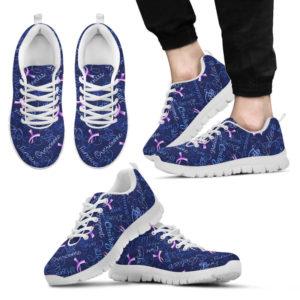 Breast Cancer - Lavender@ fightcancerpro SJ15224@sneakers 57103
