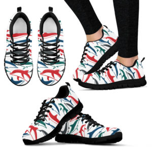 Awesome Sneakers For Dolphin Lovers@ dsk custom dolphin blsn@sneakers 55276